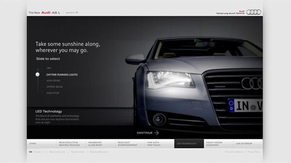 Audi A8 L sur le réseau