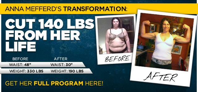 Bodybuilding.com - Body Transformation: Anna Cut 140 Pounds From Her Life
