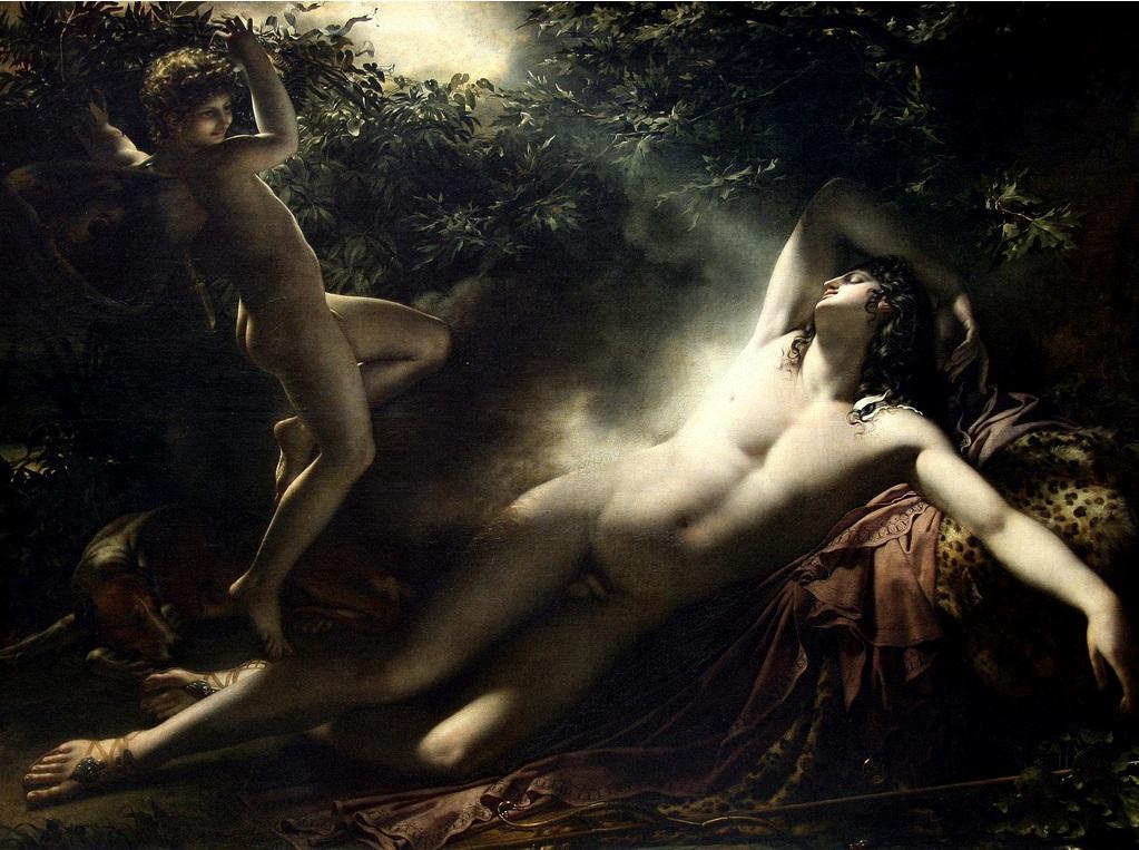Endymion-Effet-de-lune-Le-Sommeil-d-Endymion-1792-Girodet-Trioson.jpg (1023×763)