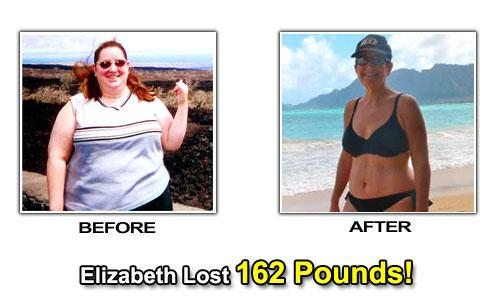Weight Loss Success Stories - Elizabeth Brave Lost Weight By Diet & Exercise