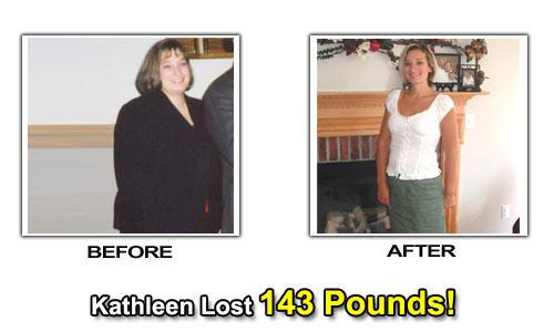 Weight Loss Success Stories - Kathleen Lost Weight By Diet & Exercise
