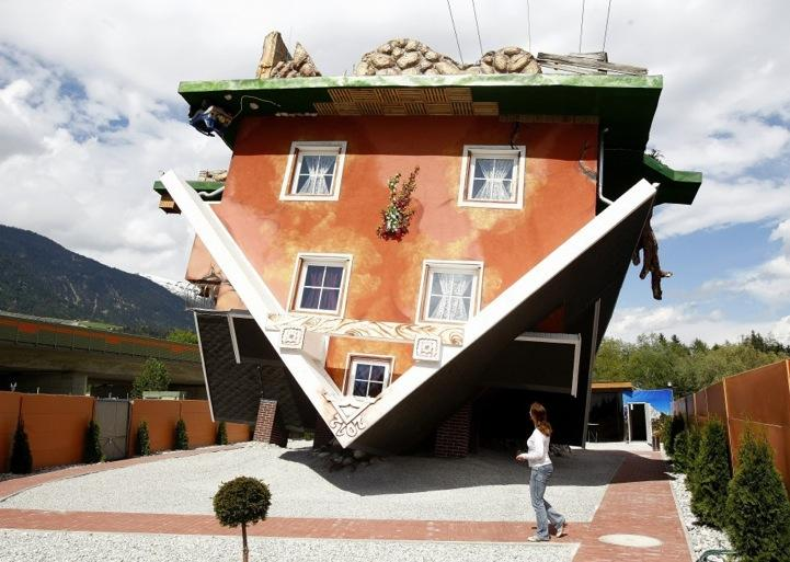 Upside Down House in Austria @ ShockBlast