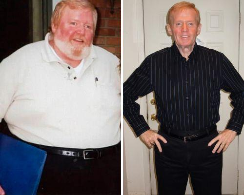 James Mulry: 'Poster boy for a heart attack' slims down