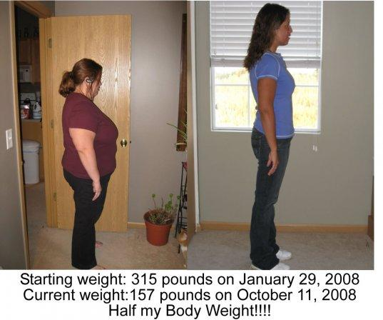WHY WEIGHT? LETS LOSE WEIGHT AND FEEL GREAT! Media Item: Before and After Pic - DailyStrength