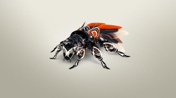 abstract,robots abstract robots bug fly 2560x1440 wallpaper – Bugs Wallpaper – Free Desktop Wallpaper