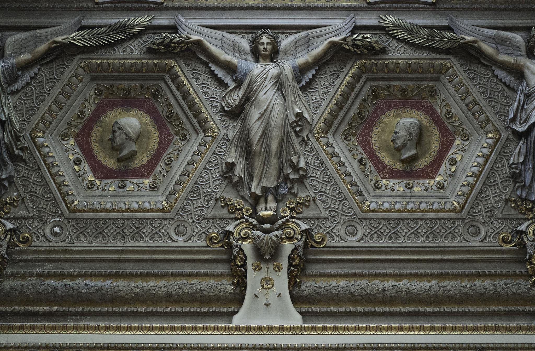 Toutes les tailles | Louvre - Ceiling Detail - Paris | Flickr: partage de photos!