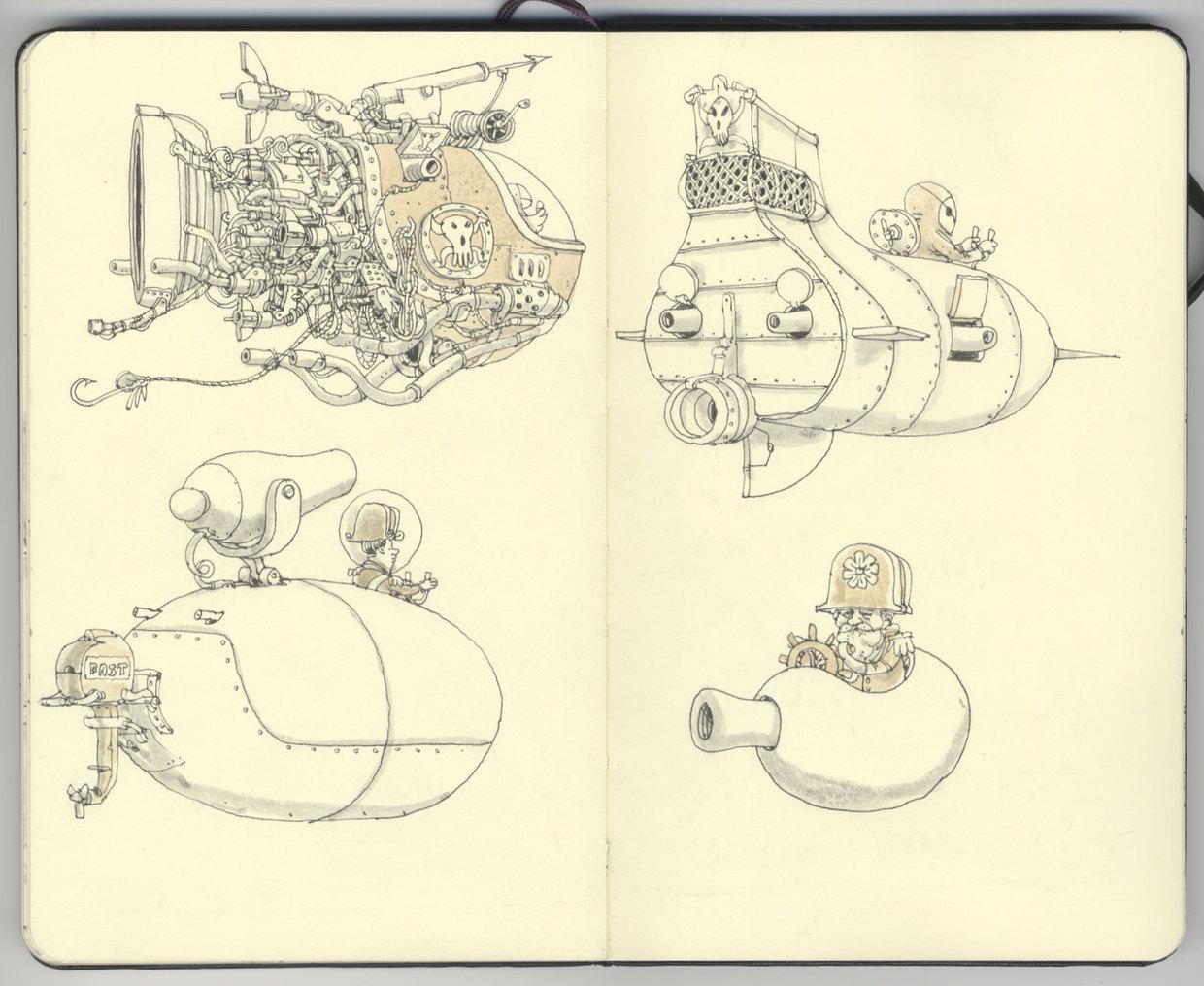 Sketchbook 21
