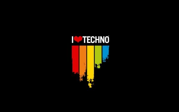 minimalistic,love love minimalistic music techno rainbows 1680x1050 wallpaper – Music Wallpaper – Free Desktop Wallpaper