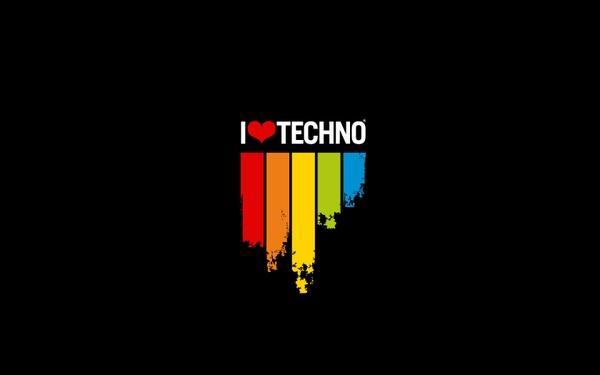 minimalistic,love love minimalistic music techno rainbows 1680x1050 wallpaper – Music Wallpaper – Free Desktop Wallpaper