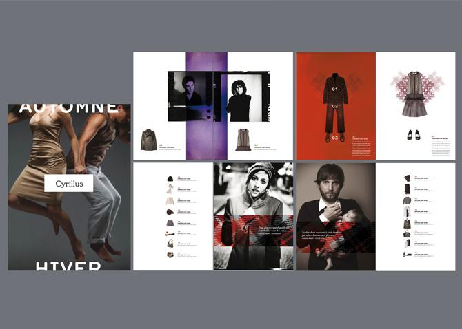 Direction Création et concept - branding et nouveau territoire de marque - Cyrillus | Stéphanie Barrois