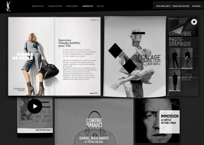 Direction Création et concept - Plateforme de marque et stratégie de contenu - YSL | Stéphanie Barrois