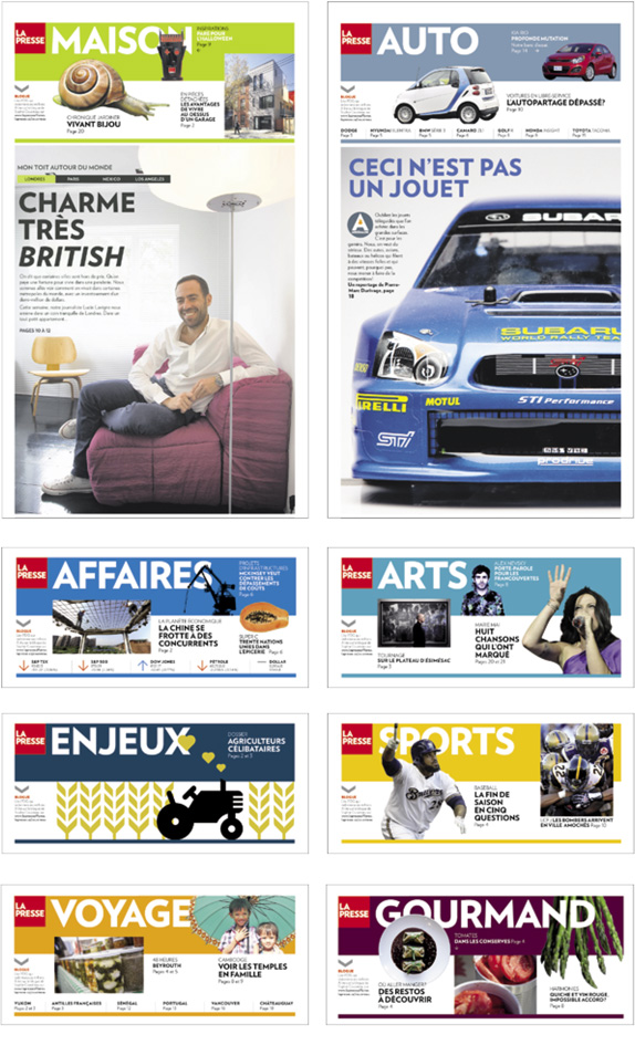 <em>La Presse</em> gets Squared Away - Brand New