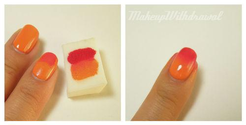 Makeup Withdrawal: Tutorial: Easy Sponge Gradient