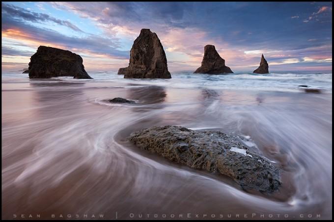 Pastel Ocean: Photo by Photographer Sean Bagshaw - photo.net