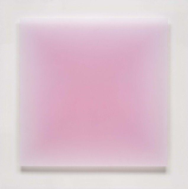 8/7/12 (Big Pink Square) (2012) by Peter Alexander, via Artsy | Need