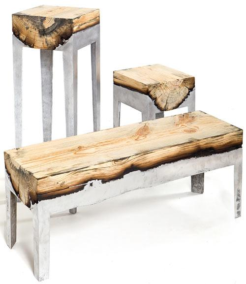Wood Casting by Hilla Shamia | Design Milk