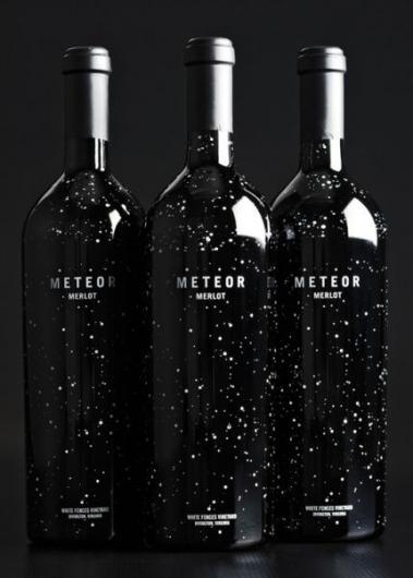 Designspiration — Meteor Merlot - Dion Label Printing - 800.583.6366 - Digital labels, Shrink Sleeves, Custom Labels, Custom stickers, Labels, tags, & tickets