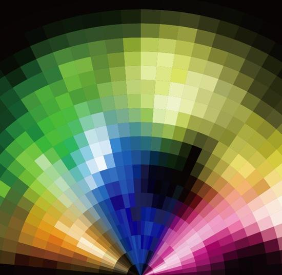 AbstractRadialColorfulMosaicBackgroundVector.jpg (550×536)