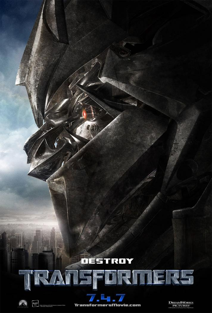 Transformers Movie Posters - I Love Substance