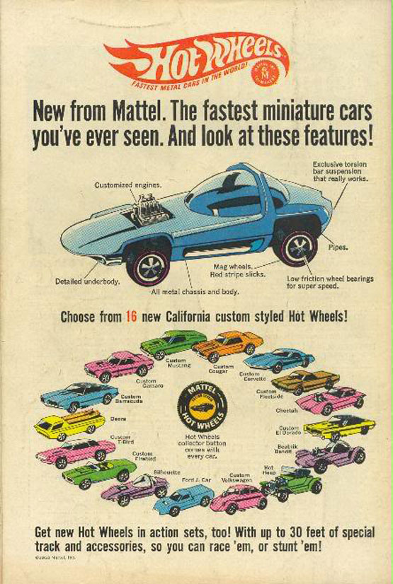 Business Blog / Mattel Hot Wheels: Coloring Playtime, One Car at a Time by COLOURlovers :: COLOURlovers