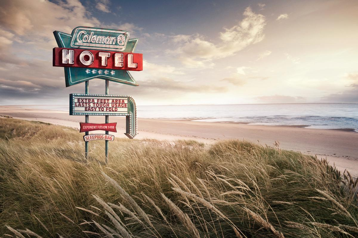 Coleman Sleeping Bags: Beach | Ads of the World™