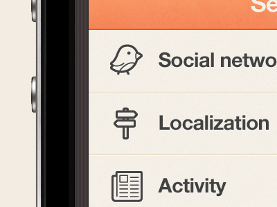 New iPhone app design   Map UI,UX interface by Julien Renvoye