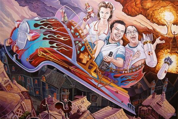 Acrylic Paintings by Dave MacDowell | Cuded