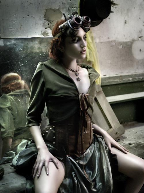 Steampunk Clothing Photography by Rebeca Saray