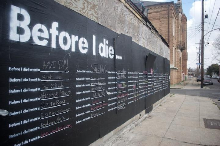 Before I Die… | iGNANT