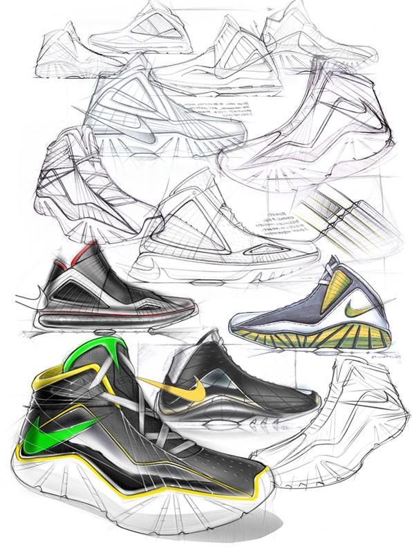 LeBron VIII Design by Ben Adams-Keane at Coroflot