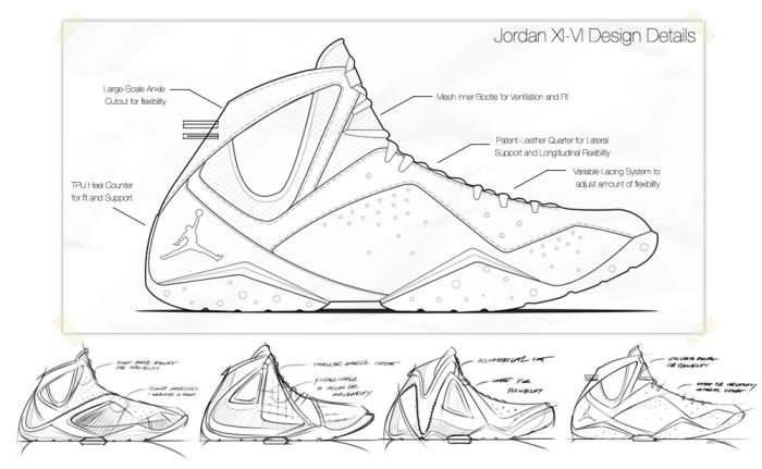 Jordan XI/VII Details by Ben Adams-Keane at Coroflot
