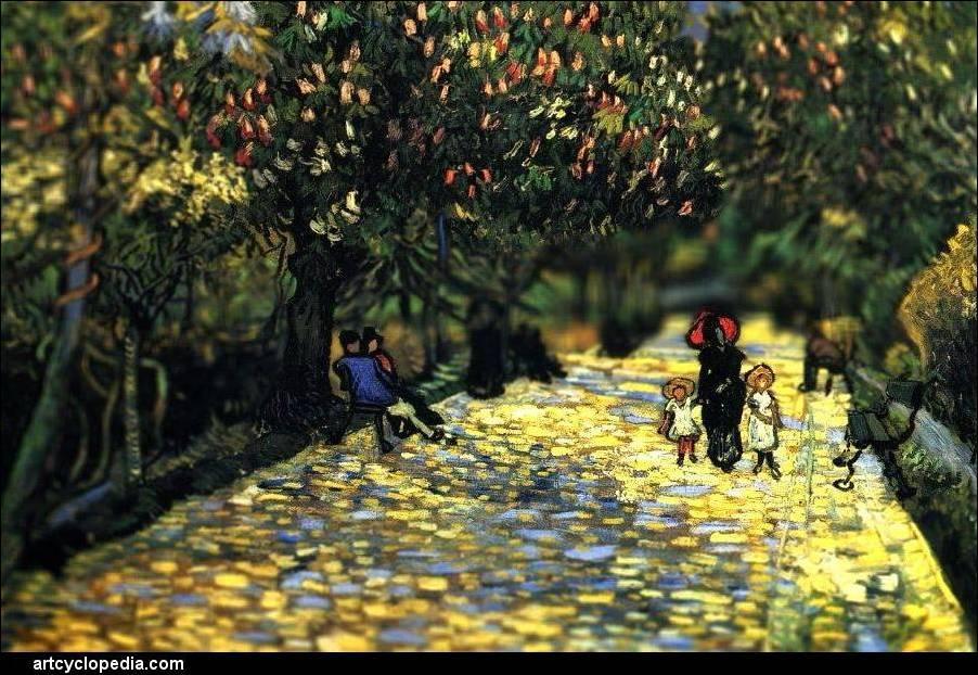Tilt-Shift Van Gogh