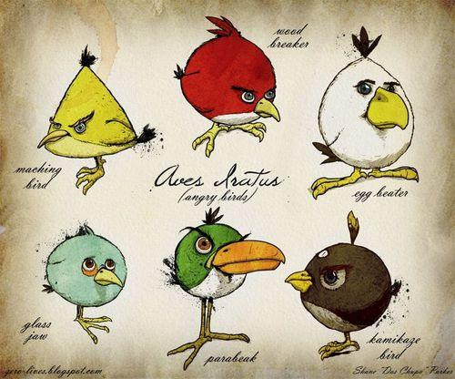 Angry Birds Painting | Ubersuper
