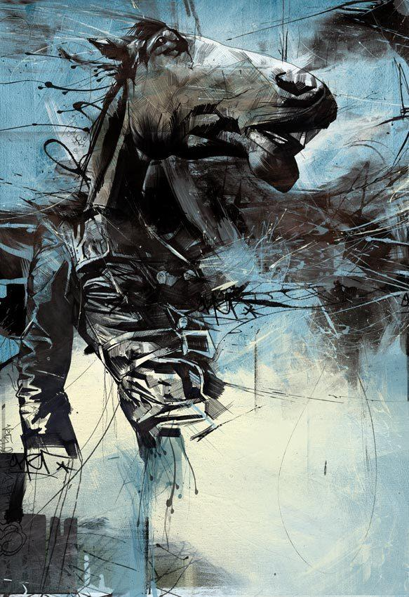 20 Excellent Abstract Illustrations by Russ Mills | inspirationfeed.com