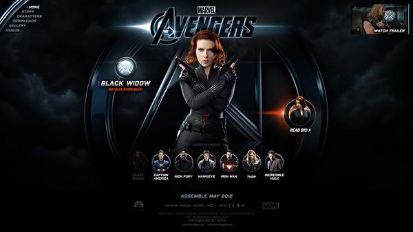Marvel The Avengers sur le réseau