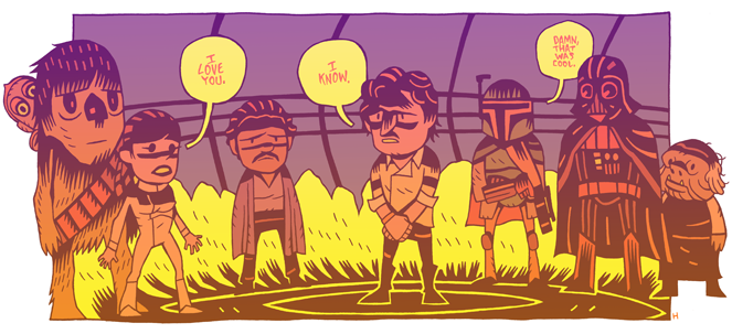 Badass Illustrations by Dan Hipp | Abduzeedo | Graphic Design Inspiration and Photoshop Tutorials