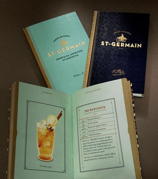 Design Work Life » Sandstrom Partners: St. Germain Packaging and Collateral