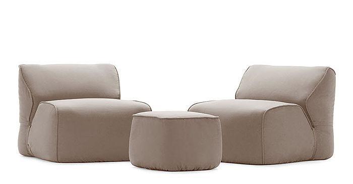Contemporary garden armchair - ZEN SOFT by Ludovica & Roberto Palomba - EXTETA