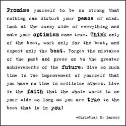 quotable-Larson: promise yourself to be so strong
