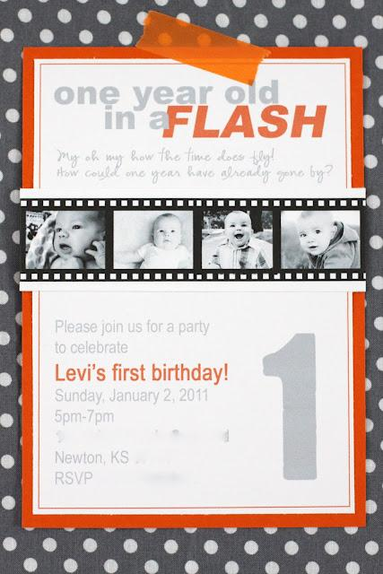 The Macs: one year old in a flash {party details}