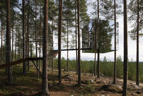Dezeen » Blog Archive » Tree Hotel by Tham & Videgård Arkitekter