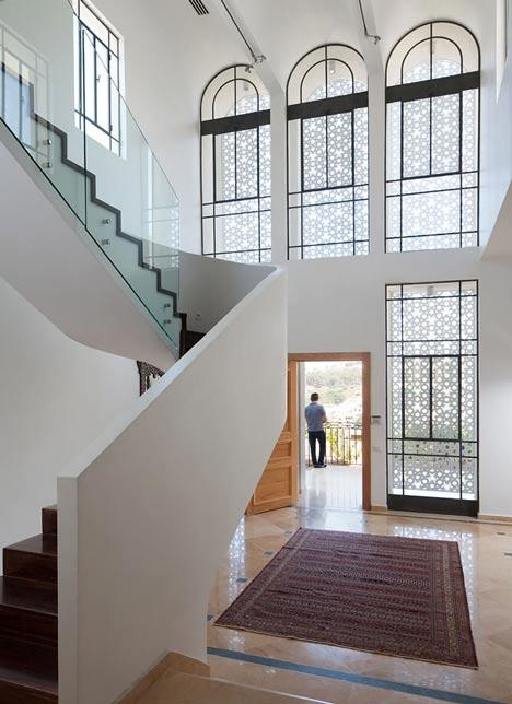Dezeen » Blog Archive » Agbaria House by Ron Fleisher Architects