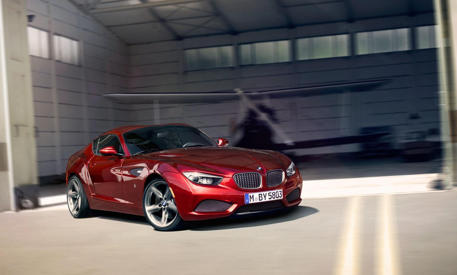 BMW Zagato Coupe - Car Body Design