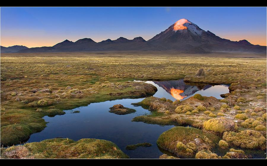 The fiery eye of the volcano | Landscape photos