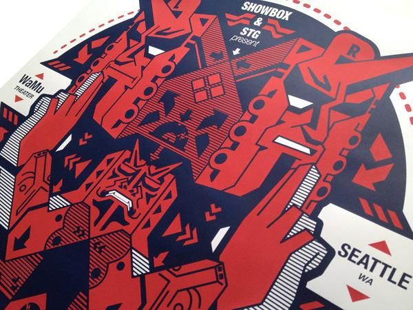 Recent Screen Print Posters - BloodSweatVector