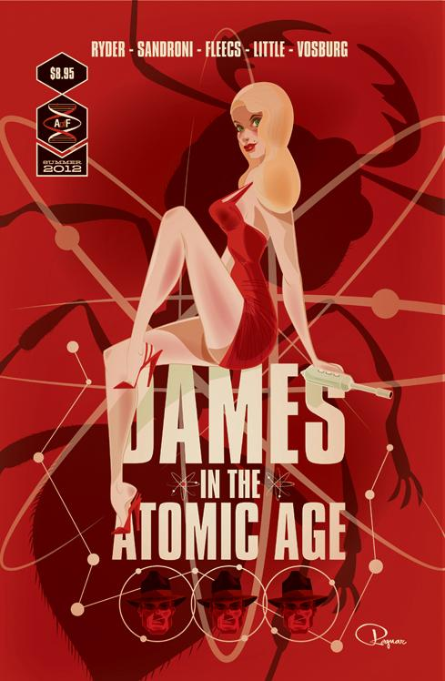 Dames Of The Atomic Age by ~BrandonRagnar