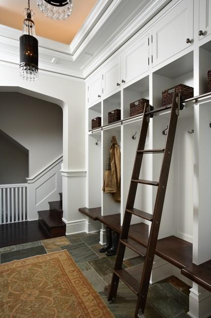 Historic St. Paul Kitchen and Mudroom Addition/Renovation - traditional - entry - minneapolis - by John Kraemer & Sons