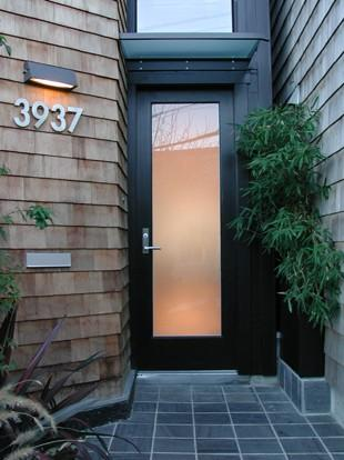 Cary Bernstein Architect Choy 1 Residence - modern - entry - san francisco - by Cary Bernstein Architect