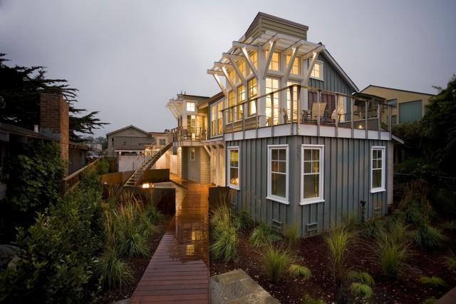 Breakers Beach House - contemporary - exterior - san francisco - by Noel Cross+Architects