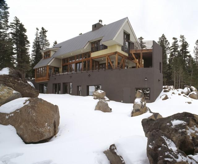 Ski House - contemporary - exterior - other metros - by Webber + Studio, Architects